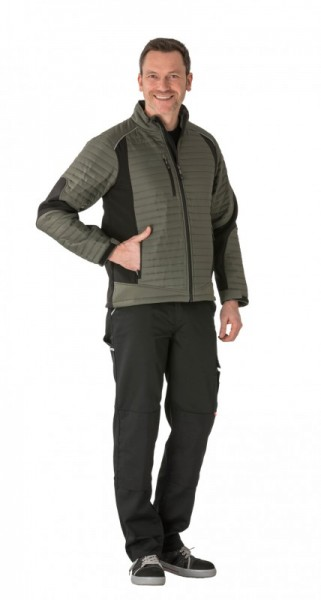 Planam Outdoor Families Air Jacke grün/schwarz