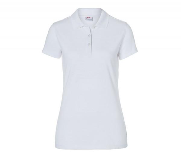 Kübler Shirts Polo Damen Form 5026 weiß