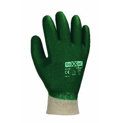 texxor PVC-Handschuhe topline gerauht