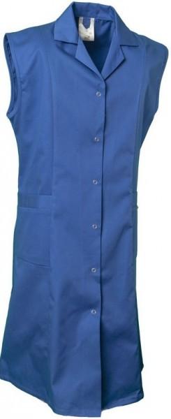 Planam Damen-Berufsmantel (o.Arm) kornblau