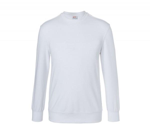 Kübler Shirts Sweatshirt Form 5023 weiß