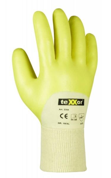 texxor Nitril-Handschuhe Strickbund 2354