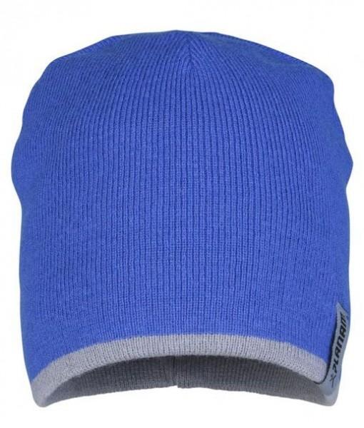Planam Leichte Strickmütze 2-farbig kornblau/zink