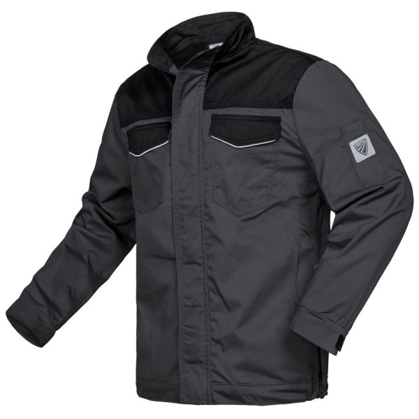 Shield Protect Arbeitsjacke Bicolor grau