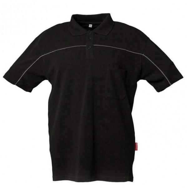 Planam Polo-Shirt schwarz/zink