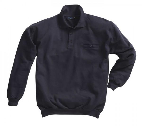 Pionier Sweatshirt mit Polokragen