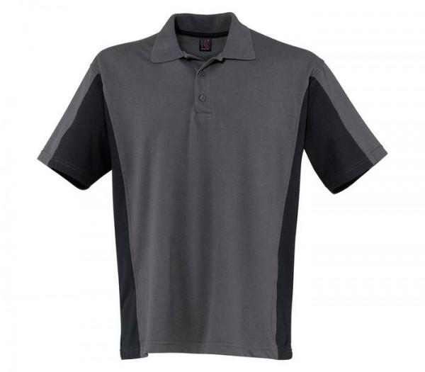 Kübler Shirt-Dress Polo Shirt Form 5019 anthrazit/schwarz