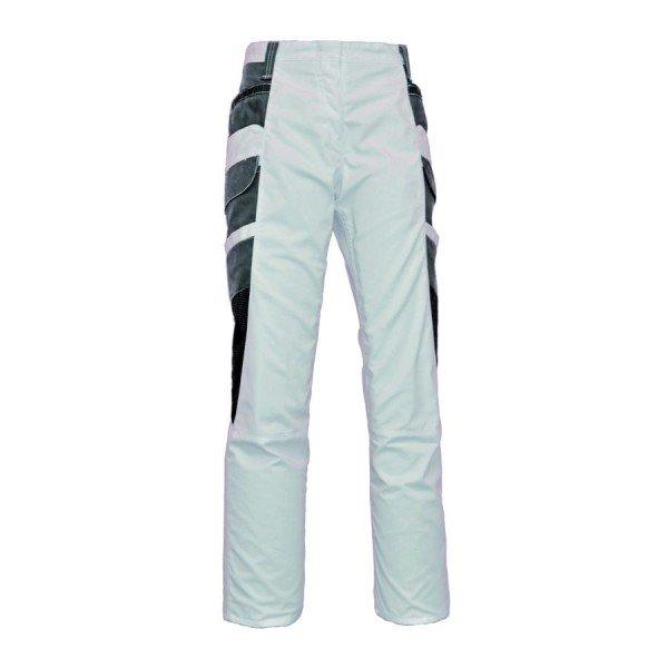 Eiko Damen Wave Flatbag Bundhose weiß/grau