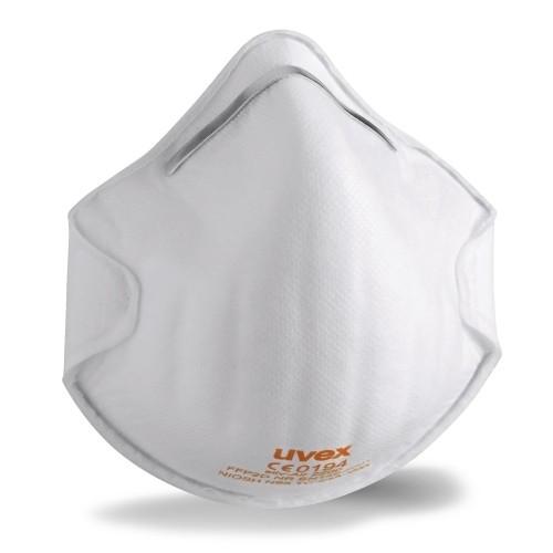 uvex silv-Air 2200 Atemschutzmaske - FFP 2 1 Box = 20 Stück