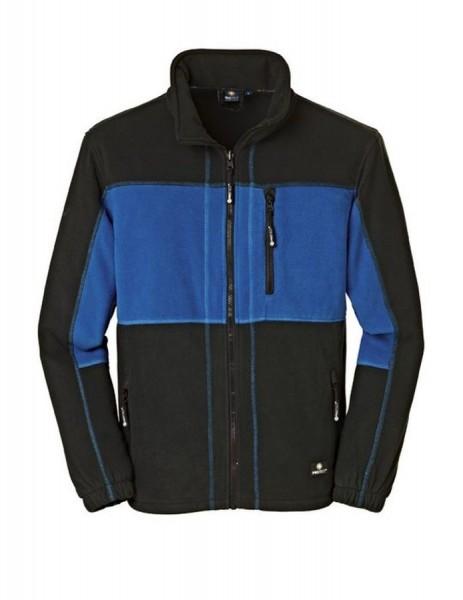 "4Protect Fleece-Jacke ""DALLAS"" blau/schwarz"