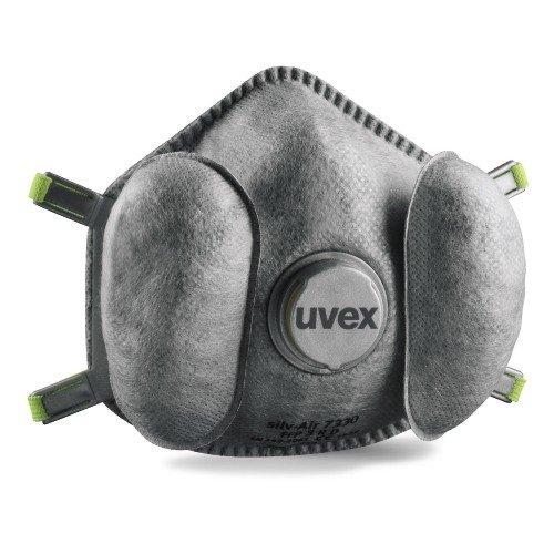 Uvex silv-Air exxcel 7330 Atemschutzmaske - FFP 3