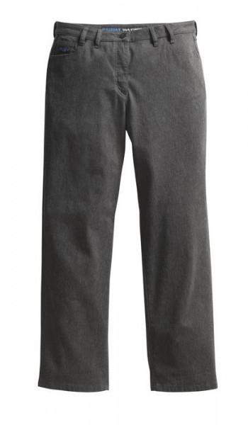 Pionier Gabardine Jeans Damen Stretch anthrazit