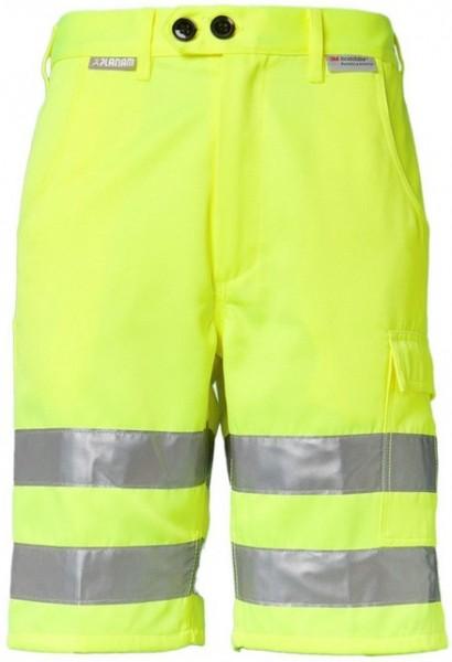 Planam Warnschutz Shorts Uni gelb