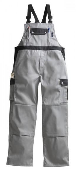 Pionier Latzhose Top Comfort Stretch grau/schwarz
