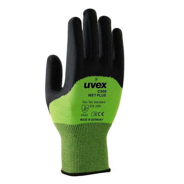 Uvex C500 wet plus Schnittschutzhandschuhe
