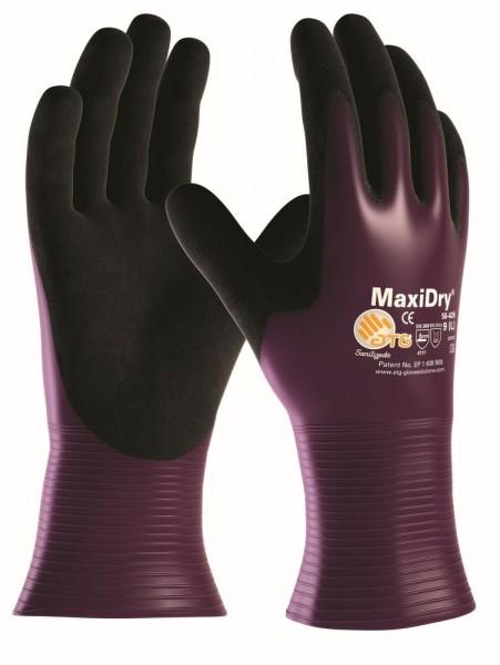 aTG MAXIDRY vollbeschichtet Nitril-Handschuhe
