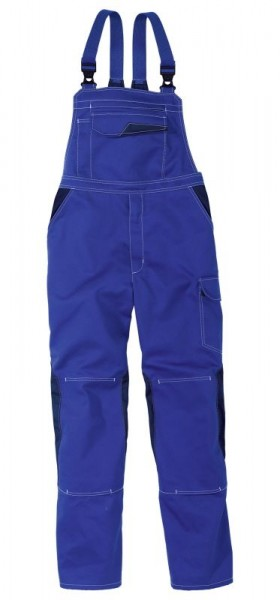 Kübler Latzhose Image-Dress new Design Form 3347 kornblau/dunkelblau