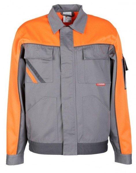 Planam Bundjacke V1 Visline zink/orange/schiefer