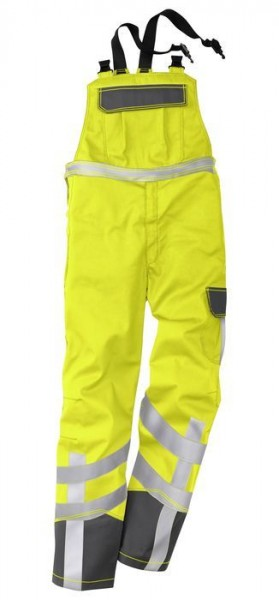 Kübler Latzhose Multinorm Safety X7-Dress Form 3780 warngelb/anthrazit