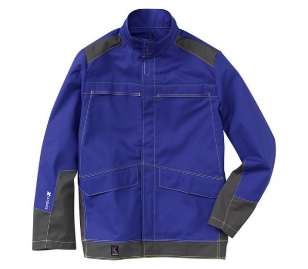 Kübler Jacke Multinorm Safety X6-Dress Jacke Form 1779 kornblau/anthrazit