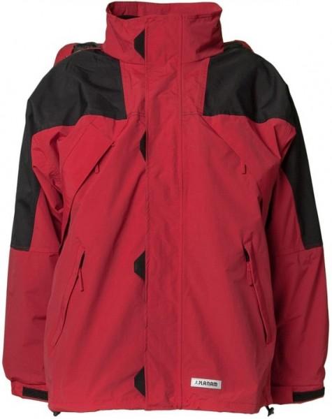 Planam Redwood Jacke rot/schwarz