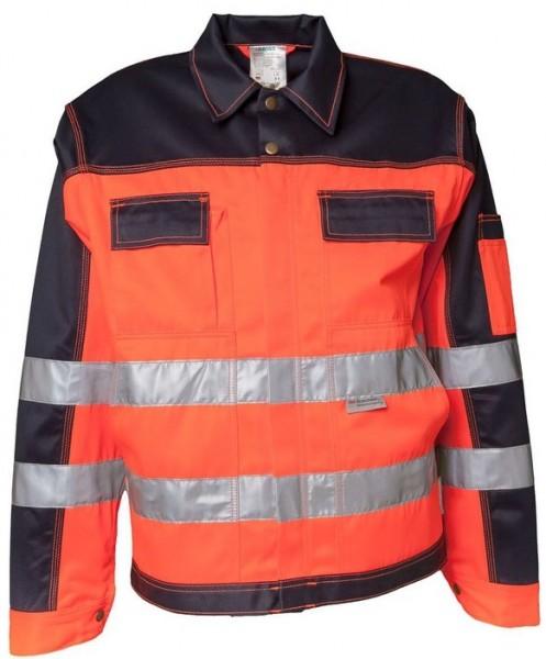 Planam Warnschutz Bundjacke Kontrast orange/marine