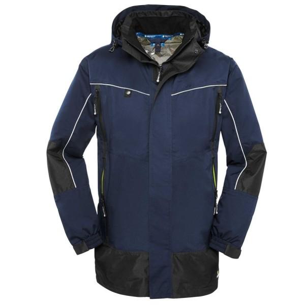 4Protect Wetterschutz-Jacke PHILLY blau/schwarz