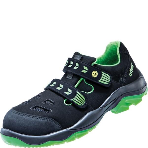 ATLAS SL 26 green ESD S1 Sicherheitsschuhe Sandale