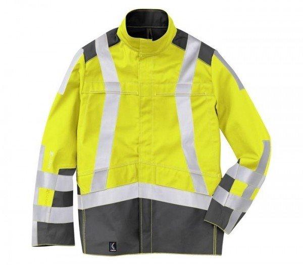 Kübler PSA Wetter-Dress Jacke High Visibility Form 1969 warngelb/anthrazit