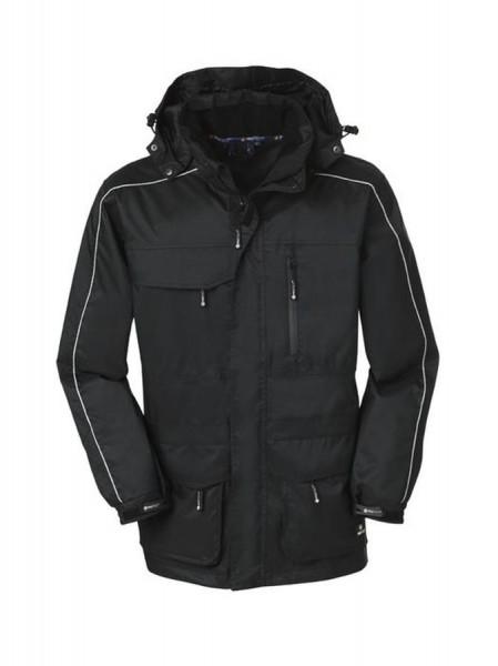 4Protect Denver Wetterschutzjacke schwarz/schwarz