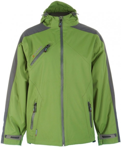 Planam Splash Jacke grün/grau