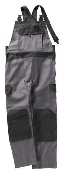 BEB Premium Latzhose grau/schwarz