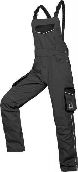 Shield Protect Cargo-Latzhose Bicolor grau