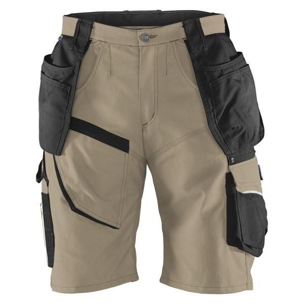 Kübler Shorts Practiq FORM 2451 sandbraun/schwarz