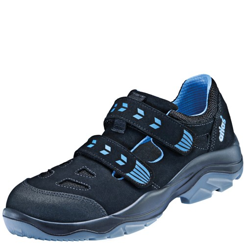 ATLAS ERGO-MED 360 blueline ESD Sicherheitsschuhe Sandale S1