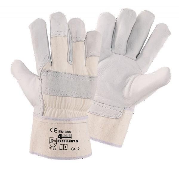 4SAFE Kromwell Excellent N Rindnarbenlederhandschuhe