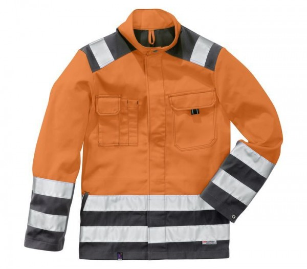 Kübler Jacke High-Visibility Inno Plus-Dress warnorange/anthrazit