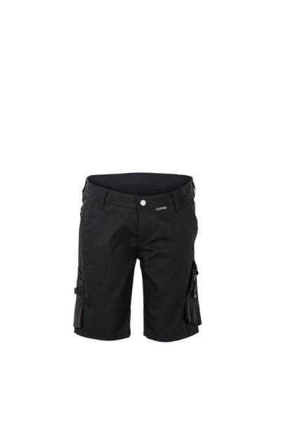 Planam Damen Shorts Norit schwarz/schwarz